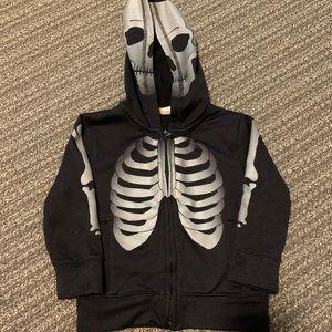 GAP boys skeleton hoodie